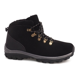 Insulated Snow Boots 83B Black