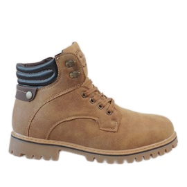 Brown Camel insulated hiking boots A177-9