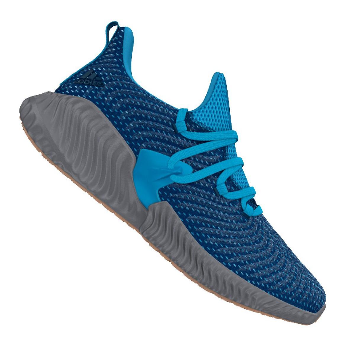Soldes > adidas alphabounce instinct blue > en stock