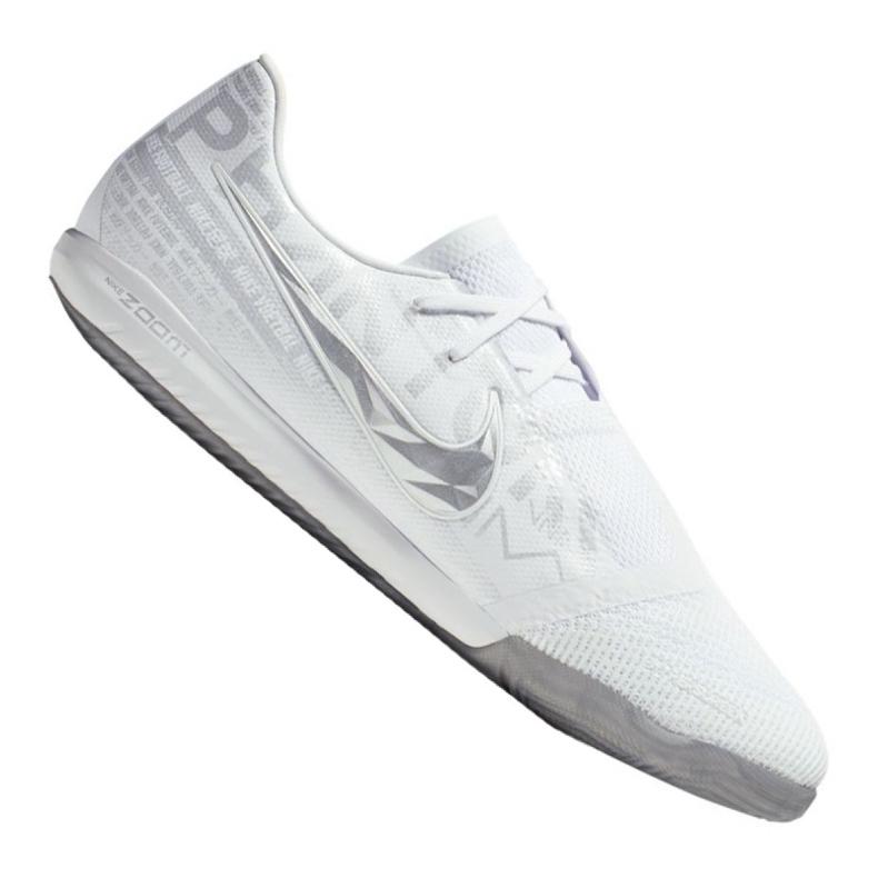 Nike Zoom Phantom Vnm Pro Ic M BQ7496-100 indoor shoes white white