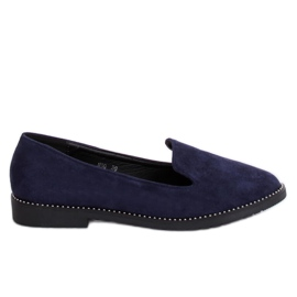 N90 Blue navy blue lords loafers