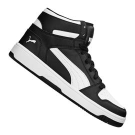Black Puma Rebound LayUp Sneakers Jr 370486 01 shoes