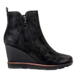 Filippo Black Ankle Boots
