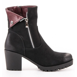Black VINCEZA boots