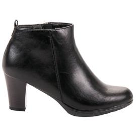 Vinceza Low Heels black