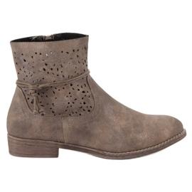 Groto Gogo Openwork Women's Boots