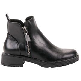Vinceza black Low Ankle Boots