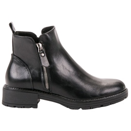 Vinceza Low Ankle Boots black