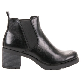 W. Potocki Black Jodhpur boots