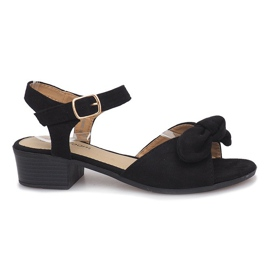 Black Noemia high heels sandals