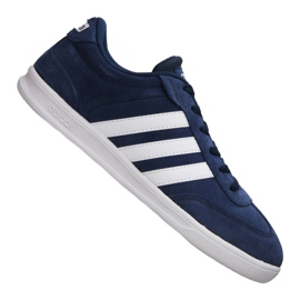 Navy Adidas Cross Court M B74444 shoes