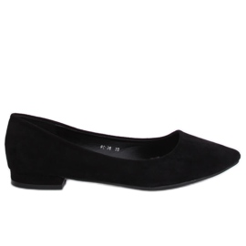 Ballerinas with almond toes black RC-76 Black
