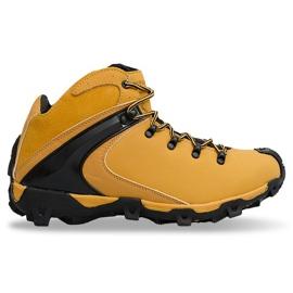 Brown insulated men's trekking 9W4324