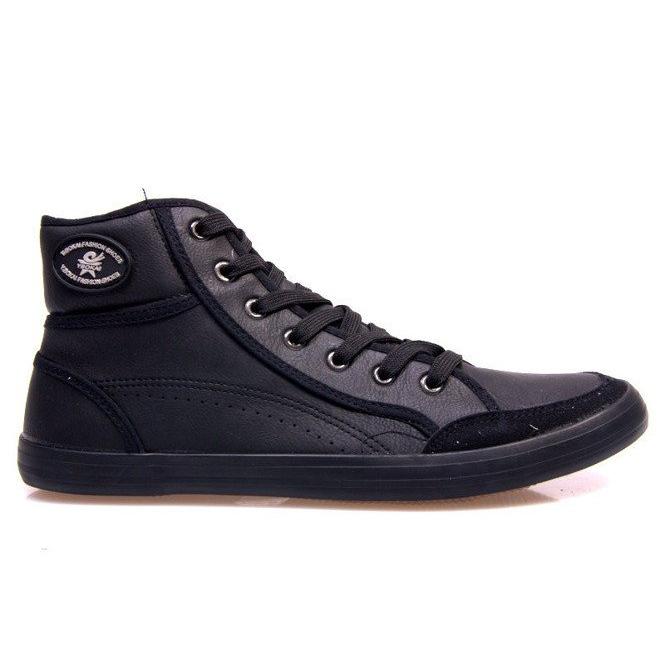 High Sneakers 201 Black