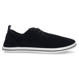 Lightweight Men's Sneakers With Eco Suede 1205 Black