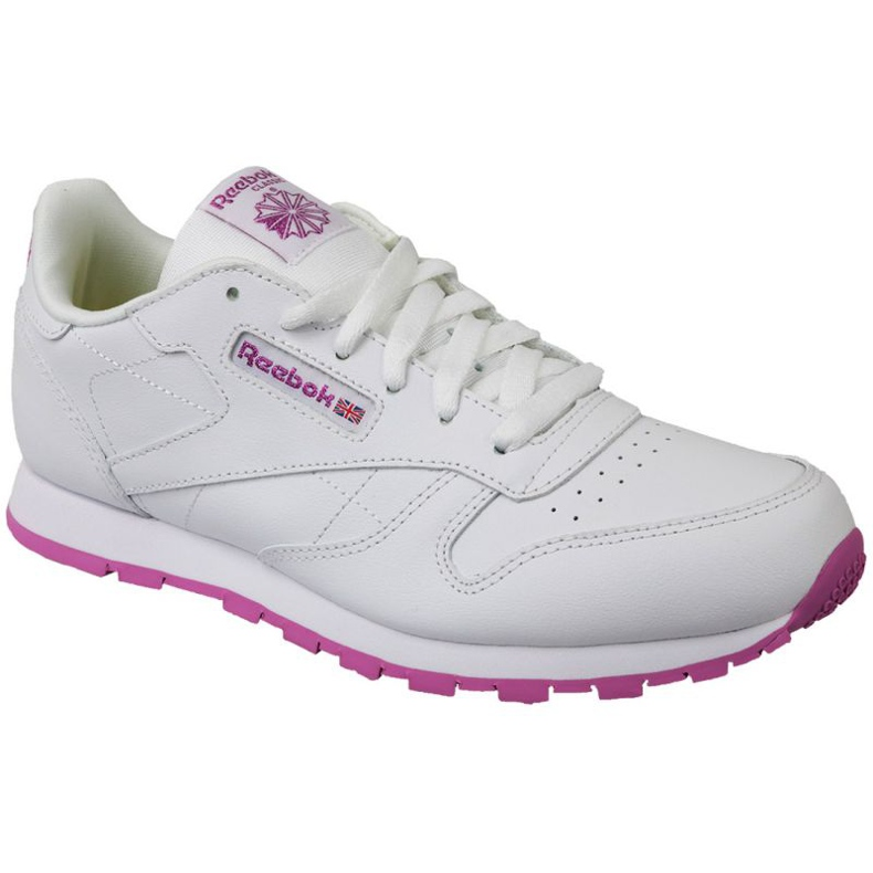 Reebok Classic Leather Jr BS8044 shoes white
