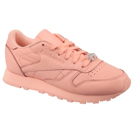 Reebok Classic Leather W BS7912 shoes pink