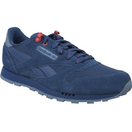 Reebok Classic Leather Jr CN4703 shoes blue
