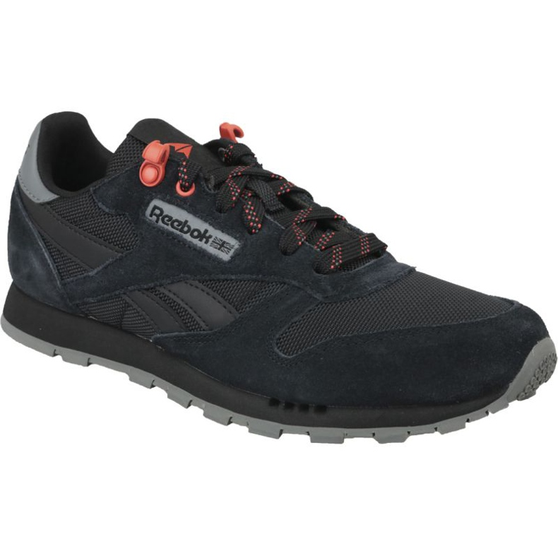 Reebok Classic Leather Jr CN4705 shoes black
