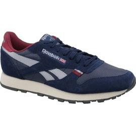 Navy Reebok Classic Leather M CN7178 shoes