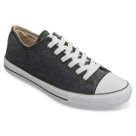 Grey Classic Sneakers Conversions 1005 Gray