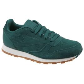Reebok Cl Leather Sg JRCM9079 shoes green