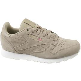 Reebok Cl Leather Mcc Jr CN0000 shoes grey