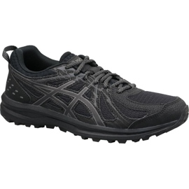 Black Asics Frequent Trail W 1012A022-001 running shoes