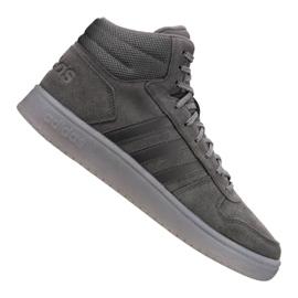 Grey Adidas Hoops 2.0 Mid M B44635 shoes