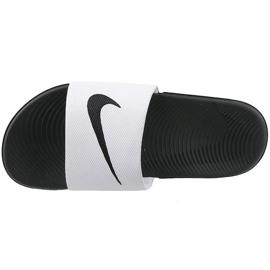 White Nike Kawa Slide Gs / Ps 819352-100 slippers