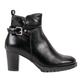 Vinceza Elegant Autumn Boots black