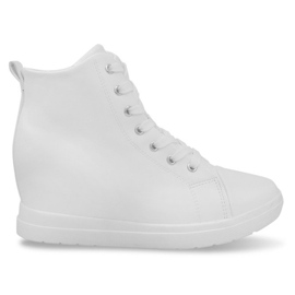 Fashionable Simple Sneakers GFA97 White