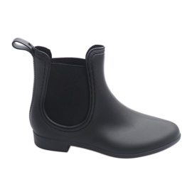 Short Wellingtons with elastic 608 Black