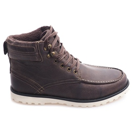 Insulated High Boots. Shoes SH26 Brown