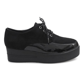 Boots Creepers On Platform MJ1358 Black