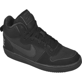 Nike Sportswear Court Borough Mid (GS) Jr 839977-001 black