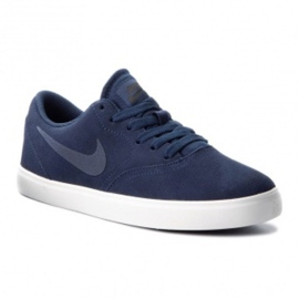Nike Sb Check Suede Jr AR0132-400 shoes navy