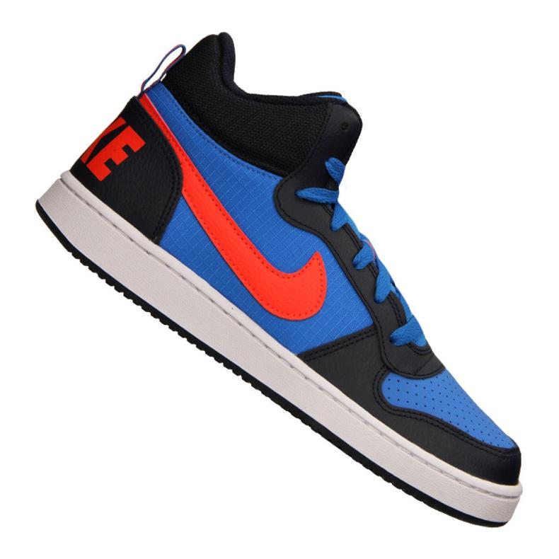 Nike Court Borough Mid Jr 839977-403 shoes blue multicolored