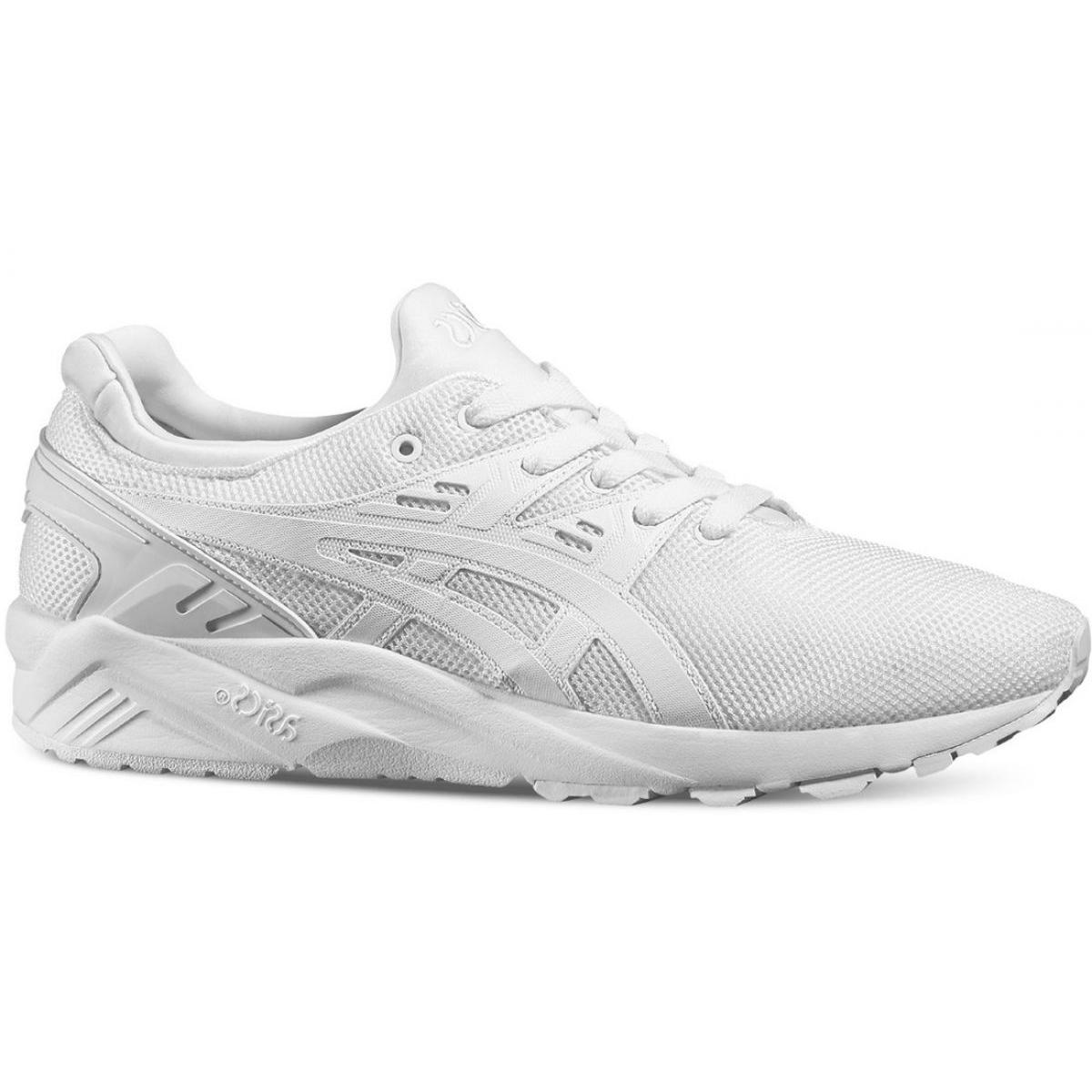 gel kayano trainer evo white