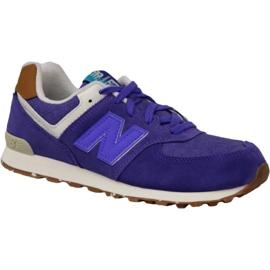 New Balance shoes in KL574EUG violet