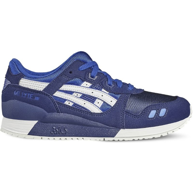 Asics Gel Lyte Iii Gs Jr C5A4N-4501 shoes navy