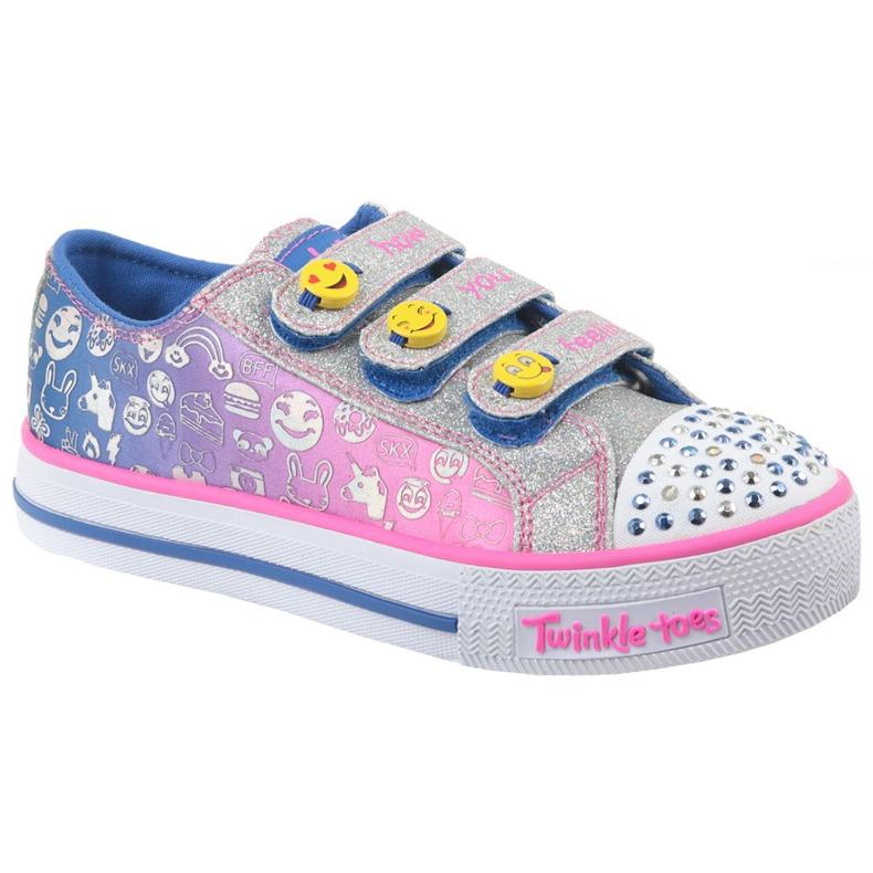 Skechers Step Up Jr 10704L-BLNP shoes multicolored