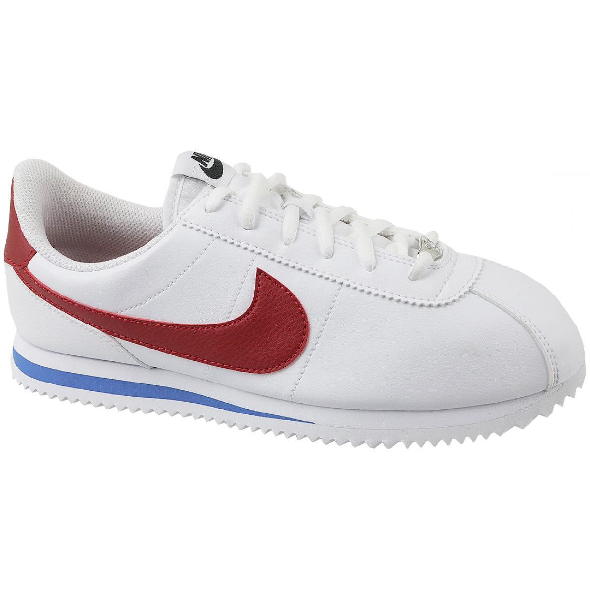 Alerta Ministerio blanco  Nike Cortez Basic Sl Gs Jr 904764-103 shoes white - ButyModne.pl