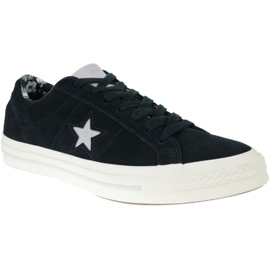 Converse One Star Ox Mid Vintage Suede M 157701C shoes black