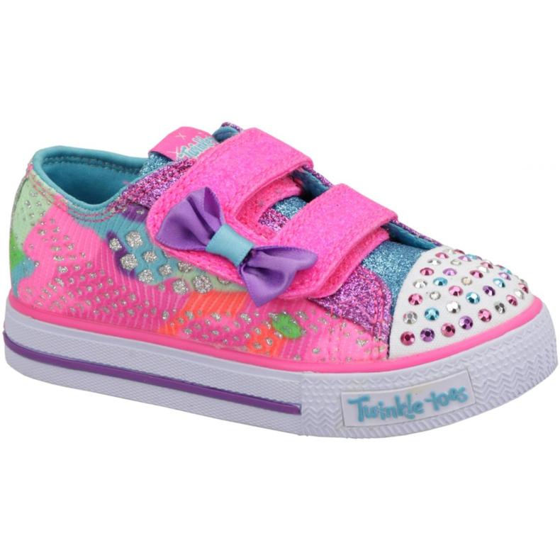 Skechers Shuffles Jr 10834N-NPMT shoes multicolored