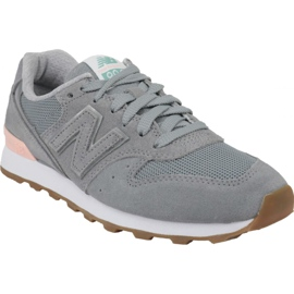 Grey New Balance shoes in WR996FSB