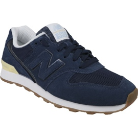 Navy New Balance shoes in WR996FSC