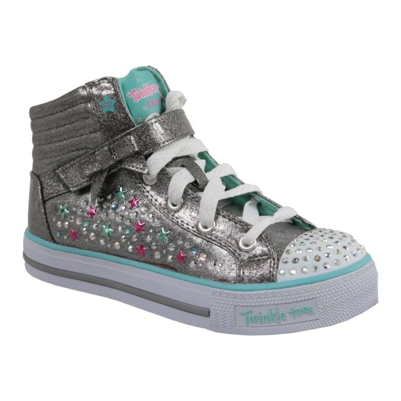 Skechers Shuffles Jr 10712L-GUTQ shoes grey