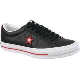 Black Converse One Star M 161563C shoes