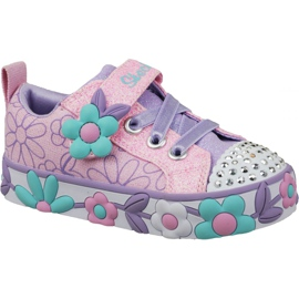 Skechers Daisy Lites Jr 10965N-PKMT shoes pink